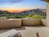 Walk deck with view of mountains in Paradise Valley