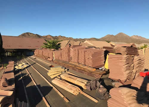 Clay Tile Re-roof